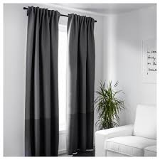 Curtains Marjun Blackout Curtains 1 Pair Ikea