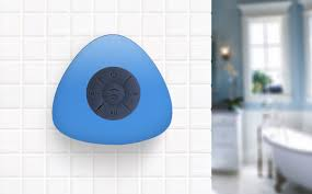 bluetooth speakers waterproof shower. avanca waterproof bluetooth speaker for showers blue speakers shower b