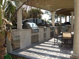Installing Outdoor Kitchens Fire Places Landscaping Design .