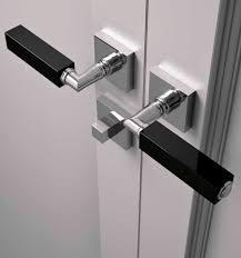 door handle crystal contemporary cube