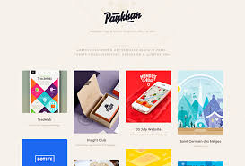 create an online portfolio website portfolio by paykhan