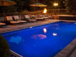 inground pools at night. Modren Night Whitsundayfiberglassswimmingpoolatnightwithfire With Inground Pools At Night I