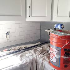 Subway tile installation + tips on grouting with Fusion Pro