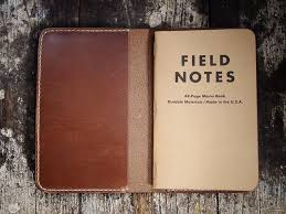 field notes leather notebook cover
