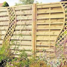 Board And Batten Fence Wood Privacy Styles Horizontal Fencing Panels