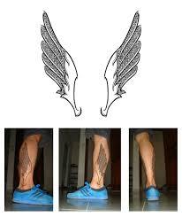 прозрачное самопознание мужское тату на ногах
