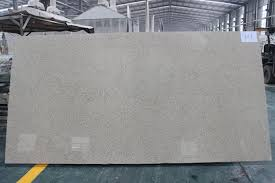 non porous artificial quartz stone smooth engineered granite countertops