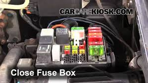 replace a fuse 1992 1999 chevrolet c1500 suburban 1996 1992 gmc suburban fuse box diagram 92 Gmc Suburban Fuse Box 6 replace cover secure the cover and test component