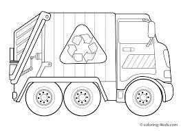 Download Camion Della Spazzatura Da Colorare Disegni Da Colorare