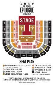 bts in manila seat plan ticket s