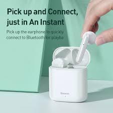 NEW <b>Baseus W09 TWS</b> Bluetooth Earphone <b>Wireless</b> Handsfree ...