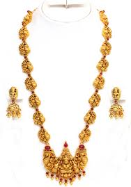 Temple Jewellery Gold Necklace Designs Temple Jewellery Set Page 12 Temple Jewellery Jewelry