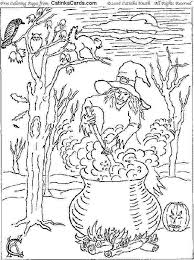 Small Picture Halloween Coloring Pages For High School Adult Kids And Adults