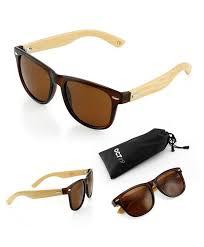 bamboo wooden vintage sunglasses eyewear