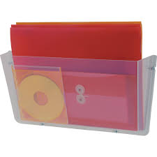 unbreakable wall file pocket a4 clear unbreakable wall pocket file