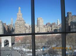 new york university nyu college bound mentor view from student center