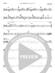 Lord I Believe In You Rhythm Acoustic Guitar Chart