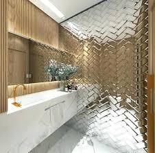 mirrored subway tiles uk antique mirror the best ideas on bathroom x
