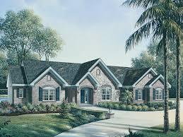 French Country Ranch Style House Plans  Home Design And StyleFrench Country Ranch Style House Plans