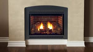 image of beautiful vented gas fireplace