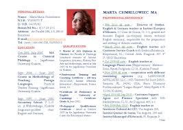 Translator Resume Sample Resume In English For Translator Therpgmovie 83