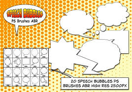 Photoshop Speech Bubble Speech Bubbles Ps Brushes Abr Free Photoshop Brushes At