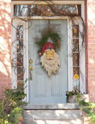 C Holiday Front Door