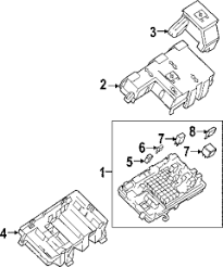 2007 gmc savana circuit breaker junction block fuse and relay diagram