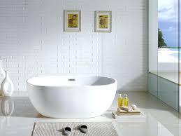 x white oval soaking bathtub by pacific collection 60 30 tub kohler k715 0 villager bathtubs