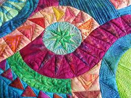 Quilting a New York Beauty! | Kelly Cline Quilting & Backs can be the most amazing part of a quilt, don't underestimate them!  Enjoy your day! Adamdwight.com