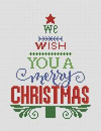 Christmas Tree Cross Stitch Pattern Pdf Christmas Cross