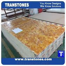 gold s solid surface faux limestone slab polished stones for countertops home stone furniture