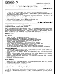 Resume For Financial Analyst Amazing It Analyst Sample Resume Gorgeous Financial Analyst Resume Here Are