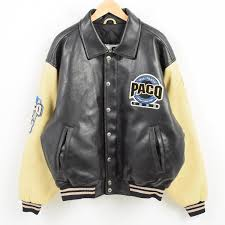 paco sport all team sports edition 合皮 oar leather award jacket men xl wak6719