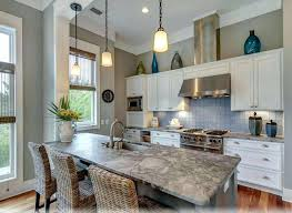 small beach cottage kitchen ideas sofa cope decor colorful kitchens popular themes decorating photos house two