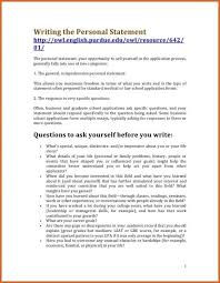 personal statement format how to write a personal statement for     Best Template Collection