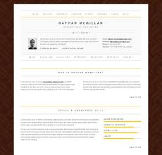 Html Resume Template Curriculum Vitae Free Sility Vcard Cv