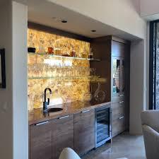 backlit onyx bar wall