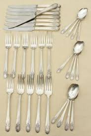 Wm Rogers Silverplate Patterns Simple Antique Silverware Sets Silverplate Patterns And Vintage Stainless