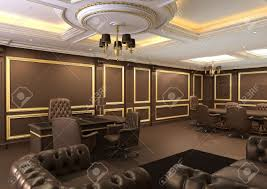 furniture office space. Interior Office Space, Royal Apartment With Luxury Furniture Stock Photo - 10523439 Space
