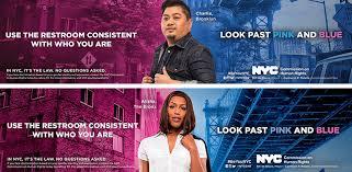 nyc bathroom law. pro-trans restroom rights ads in nyc nyc bathroom law o