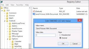 How To Embed Images Into Signatures In Outlook 2013 2016