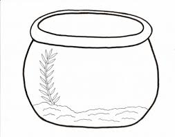 Small Picture Fish Bowl Coloring Page intended to Really encourage to color