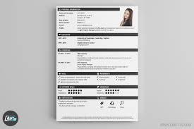 Modern Creative Resume Example Resume Template Modern Creative Builder Nguonhangthoitrang Net