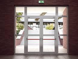 alumil smartia m11500 fr fire rated entry door