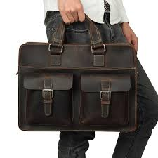 <b>JOYIR Genuine Leather Men</b> Bag Men Briefcases Men Messenger ...