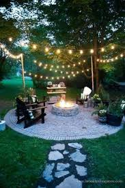outdoor lighting ideas for patios.  lighting backyard fire pit and lighting for outdoor lighting ideas patios