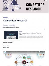 Competitor Research Template Competitor Research Template Bit Ai Document Collaboration