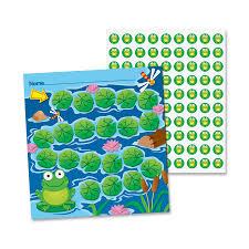 Carson Dellosa Publishing Co Inc Carson Dellosa Frogs Student Progress Incentive Chart 0 19 Height X 7 50 Width X 4 75 Length Multicolor 30