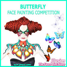 erfly face painting competition winners announced